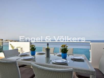 Seafront, Corner two bedroom penthouse for sale in Sliema