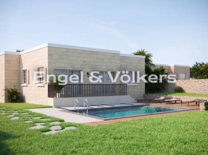 Plot For A Bungalow With Pool