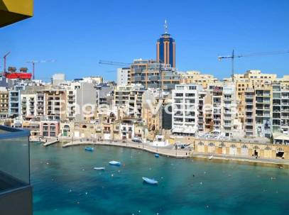 New Seafront Apartment For sale in St.Julians