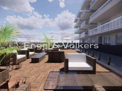 Apartment having Terrace With Communal Pool & Views
