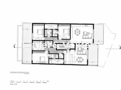 Forth floor, 2 bedroom Penthouse in Mgarr