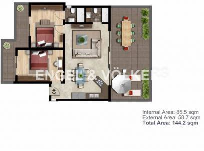 2 Bedroom Penthouse for Sale in Swatar