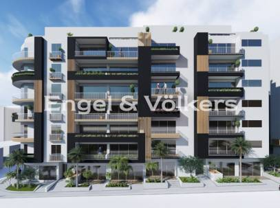 Corner 3 bedroom apartment with side sea views for sale in Qawra